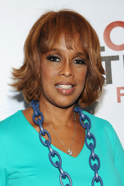 Gayle King attends VIP Lounge at the 2014 Global Citizen Festival to end extreme poverty by 2030 in Central Park on September 27, 2014 in New York City