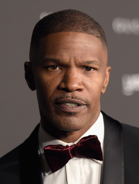 Actor Jamie Foxx attends the 2014 LACMA Art + Film Gala honoring Barbara Kruger and Quentin Tarantino presented by Gucci at LACMA on November 1, 2014 in Los Angeles, California