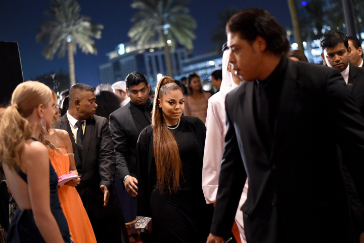 DUBAI, UNITED ARAB EMIRATES - OCTOBER 31:  Janet Jackson attends the Gala Event during the Vogue Fashion Dubai Experience on October 31, 2014 in Dubai, United Arab Emirates.