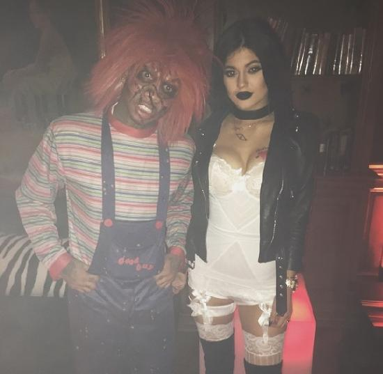 jlo-halloween6-Tyga and Kylie Jenner