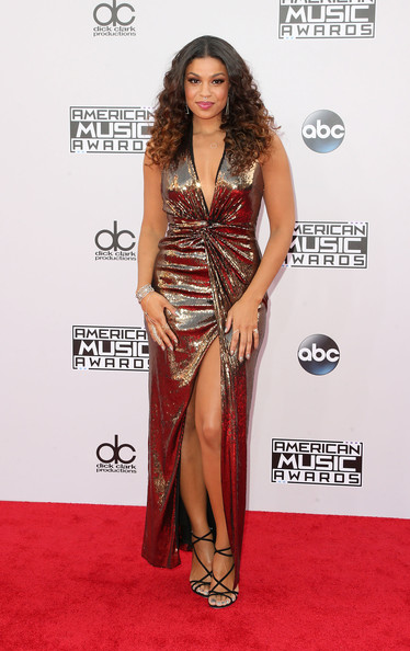 Singer Jordin Sparks attends the 42nd Annual American Music Awards at the Nokia Theatre L.A. Live on November 23, 2014 in Los Angeles, California