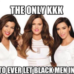 Khloe Kardashian Labeled Racist for Sharing KKK Meme