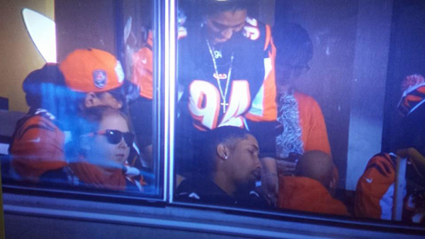 Lauren Hill and Leah Still, both battling pediatric cancer, sat together at Thursday night's Bengals-Browns game. While there is hope for Leah to survive her stage 4 cancer, Hill's brain cancer diagnosis is terminal with doctors giving her only a brief time left to live.