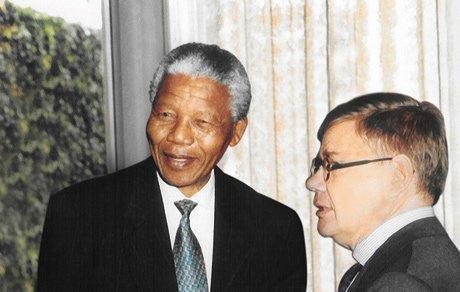Nelson Mandela & Jean-Yves Ollivier
