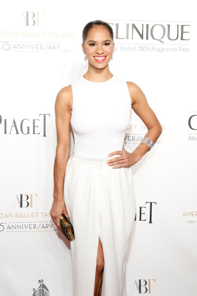 Misty Copeland attends American Ballet Theatre 2014 Opening Night Fall Gala at David H. Koch Theater at Lincoln Center on October 22, 2014 in New York City