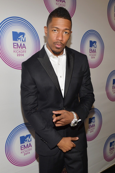 Nick Cannon attends the 2014 MTV EMA Kick Off at the Klipsch Amphitheater on November 9, 2014 in Miami, Florida