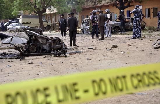 nigerian suicide bombing