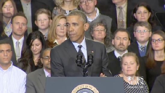 obama - no sympathy for violence