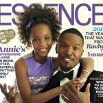 'Annie' Stars Quvenzhane Wallis, Jamie Foxx Cover Essence