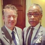 Sen. Rand Paul & Rev. Al Sharpton Meet to Discuss Common Objectives