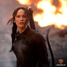 Jennifer Lawrence stars in Lionsgate's The Hunger Games: Mockingjay Part 1.