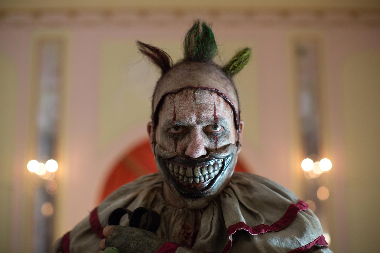 John Carroll Lynch as Twisty the Clown in 'American Horror Story: Freak Show'