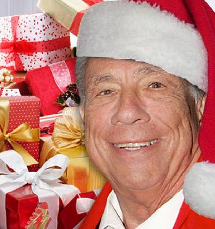 Donald Sterling - Christmas Gifts
