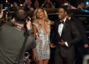 "(L-R) Gabrielle Union and Chris Rock in ""Top Five"""