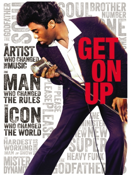 James Brown Get on Up Starring Chadwick Boseman  goes digital