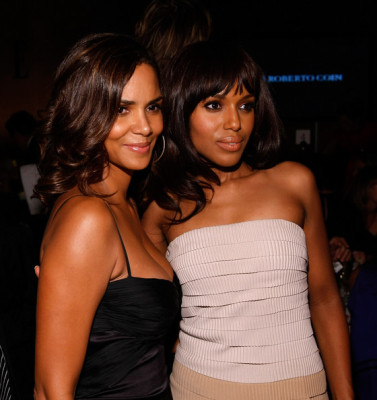 Halle Berry and Kerry Washington