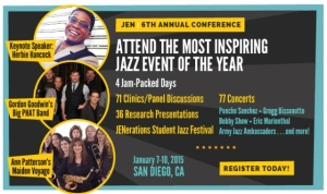 Jazz Education Network Conference Banner