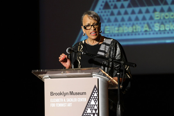 Director of Smithsonian's National Museum of African Art and honoree Dr. Johnnetta B. Cole speaks on stage during the Brooklyn Museum's Sackler Center First Awards at the Brooklyn Museum on April 18, 2012 in the Brooklyn borough of New York City
