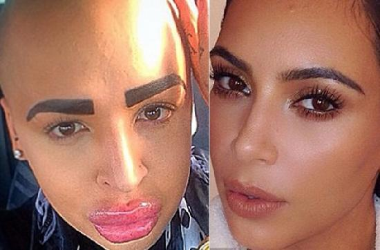 Jordan James Parke & Kim Kardashian