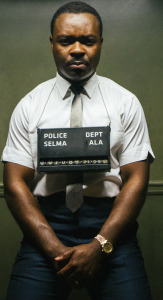 David Oyelowo, as MLK, sits in a Selma jail because he fought for the right to vote.