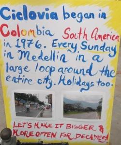 CicLAvia signage: Photo Credit, Ricky Richardson