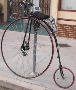 Vintage Bicycle: Photo Credit, Ricky Richardson