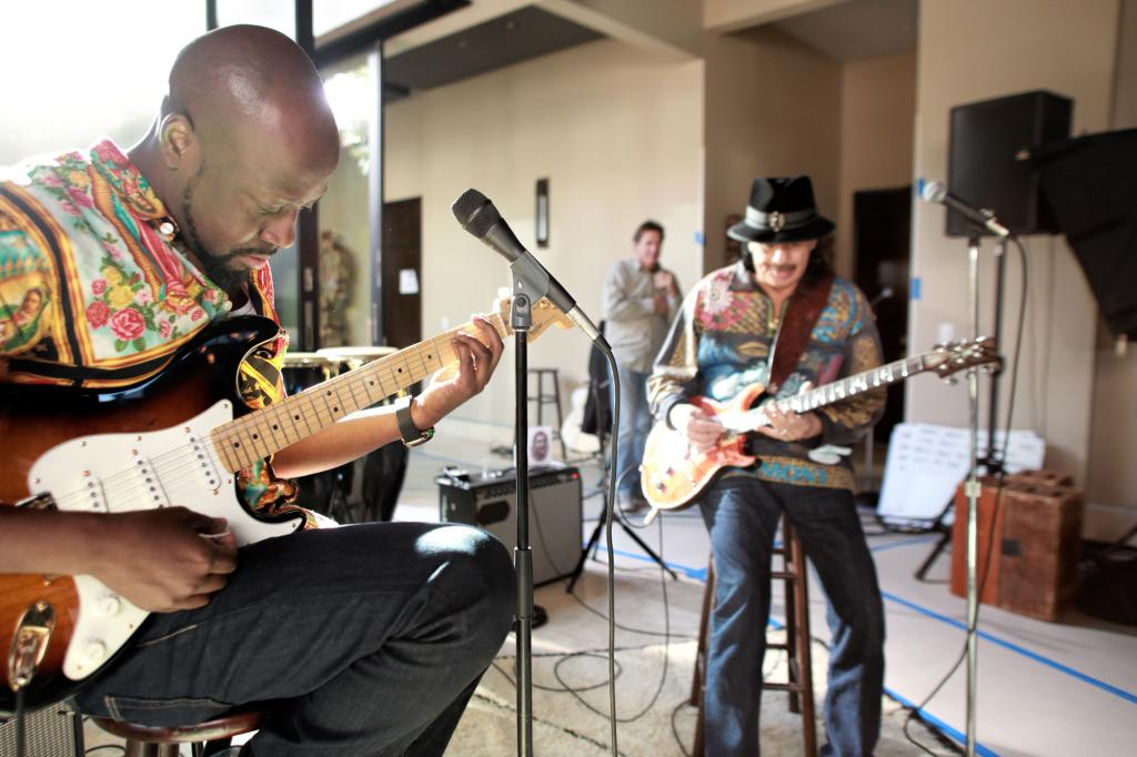 Wyclef/Santana Jam Session