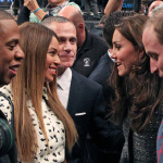 Royals in Brooklyn: Will & Kate Meet Queen Bey, King James at Barclays (Pics)