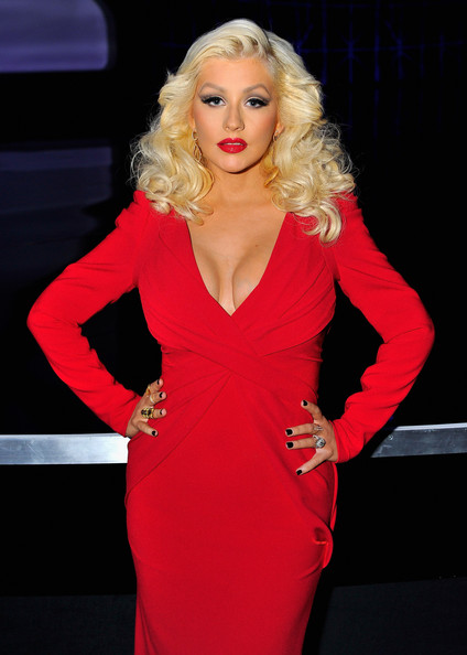 Singer Christina Aguilera attends the Breakthrough Prize Awards Ceremony Hosted By Seth MacFarlane at NASA Ames Research Center on November 9, 2014 in Mountain View, California