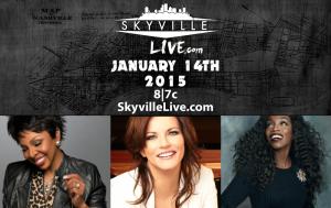 skyville live, gladys knight, estelle, martina mcbride