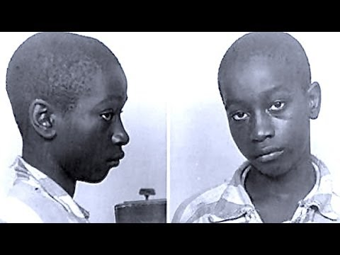 We are not exactly sure of the date this photo of 14-year-old George Stinney, Jr. was taken - but the year is said to be 1944