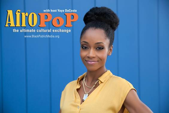 "yaya decosta hosts ""AfroPoP"""