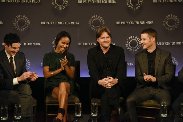 Robin Lord Taylor, Jada Pinkett Smith, Donal Logue, Ben McKenzie attend the GOTHAM Panel At PaleyFest NY on October 18, 2014 in New York City