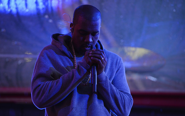Rapper Kanye West performs on World AIDS Day at 'A (RED) Thank You,' presented by (Bank of America)RED on December 1, 2014 in New York City.