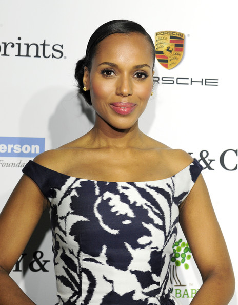 Actress Kerry Washington attends the 2014 Baby2Baby Gala, presented by Tiffany & Co. on November 8, 2014 in Culver City, California