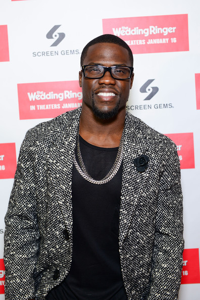 Actor/Comedian Kevin Hart walks the red carpet at United Artists Riverview Cinema in Philadelphia, Pennsylvania to celebrate his upcoming new film 'Wedding Ringer' on December 8, 2014 in Philadelphia City