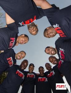 black men run first mobile running/fitness app