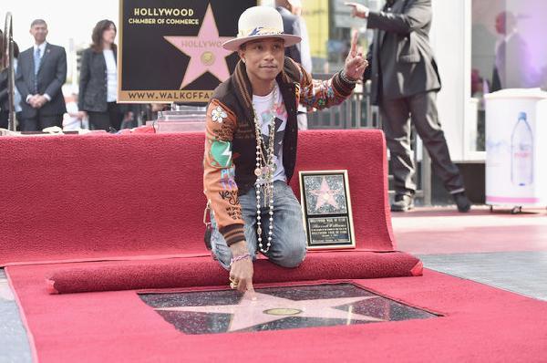 pharrell hollywood star