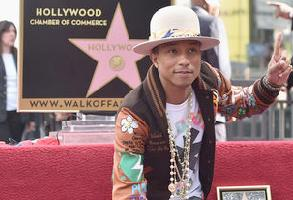 pharrell hollywood star