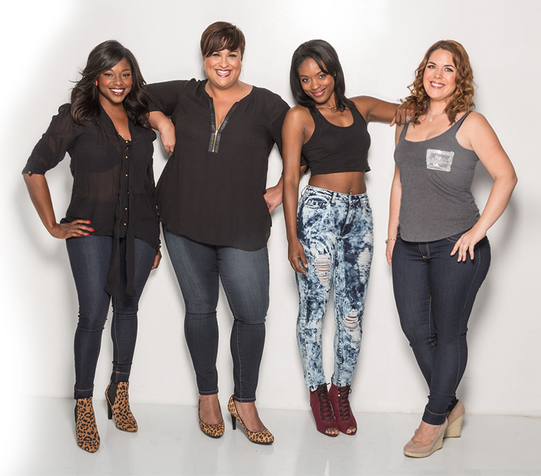 Poetic Justice Jeans- - Jeans That Fit Your Shape. www.PoeticJusticeJeans.com  You can't love the curves, if you don't know the curves. Kalia Calloway