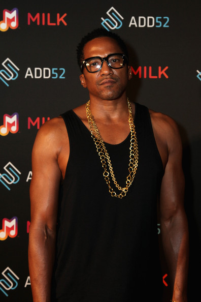 Rapper Q-Tip attends the Samsung celebration of Milk Music and ADD52 on July 10, 2014 in Brooklyn City