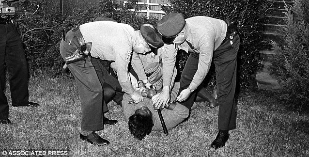 Annie Lee Cooper fought with officers after they tried to stop her from standing in line to vote in 1965