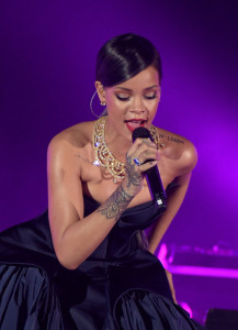 Singer Rihanna is 27 today