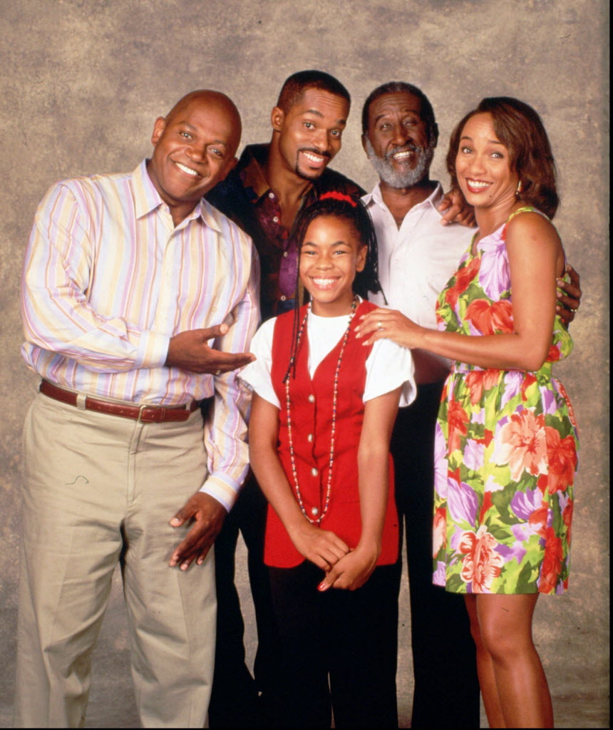 The cast of the Fox-TV show 'Roc' is shown in a 1993 handout photo.