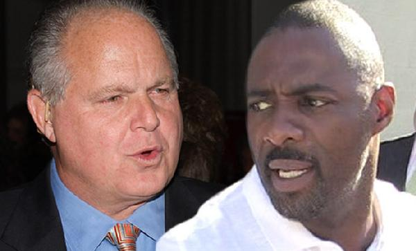 rush limbaugh & idris elba