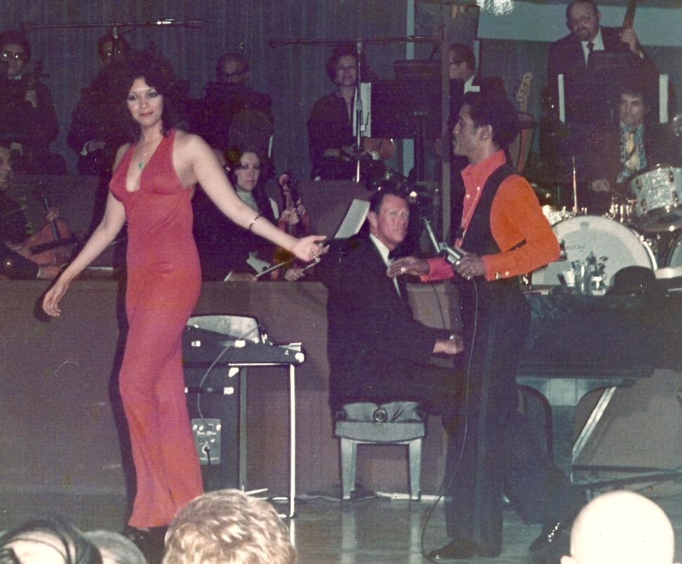 Kathy McKee and Sammy Davis Jr.