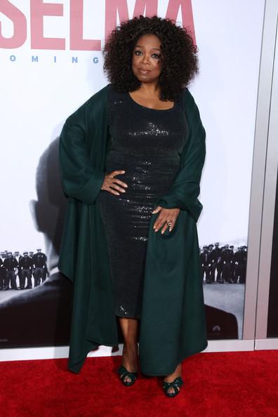 "Oprah Winfrey attends the ""Selma"" New York Premiere at Ziegfeld Theater on December 14, 2014 in New York City"