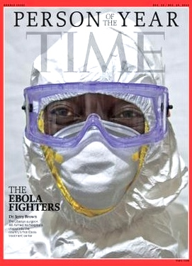time ebola fighter cover