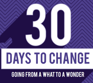 30 Days To Change Graphic