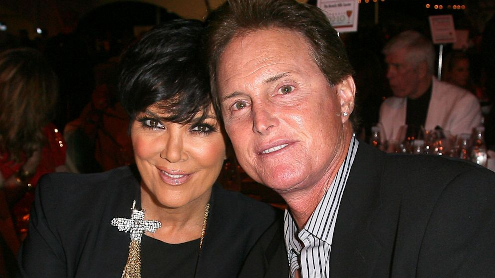 Kris and Bruce Jenner in a different time and place during their 20 year marriage